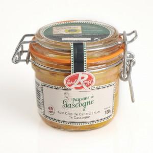 Foie Gras de Canard Entier de Gascogne Label Rouge