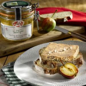 Foie gras label rg 180g V cadre
